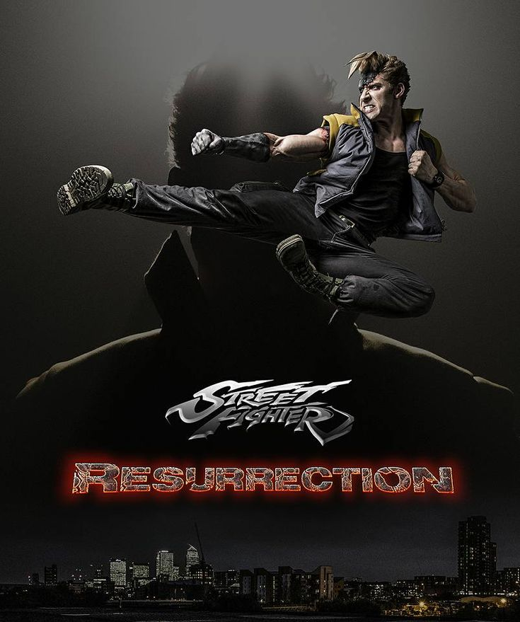 M.A.A.C. – Teaser For STREET FIGHTER: RESURRECTION Featuring ALAIN MOUSSI As 'Charlie Nash'. UPDATE: Poster