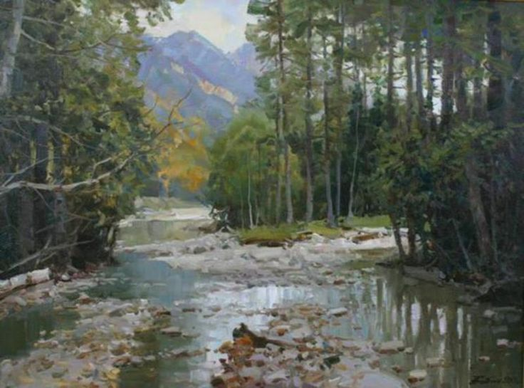 russian landscape painters - Google Search