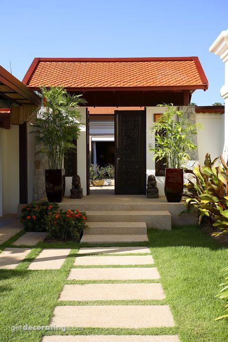 Cercos para patio ideas para cercos muros dise o de - Diseno de jardines exteriores ...
