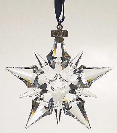 Snowflake - Boxed in the Swarovski Annual Ornaments pattern by Swarovski Crystal