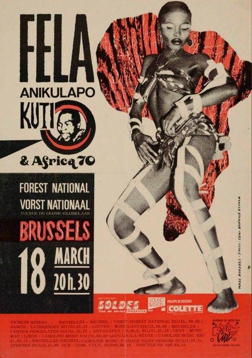 Fela Anikulapo Kuti & Africa 70 - Brussels