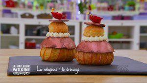 Les recettes étapes par étapes de l'émission Le meilleur pâtissier sur M6