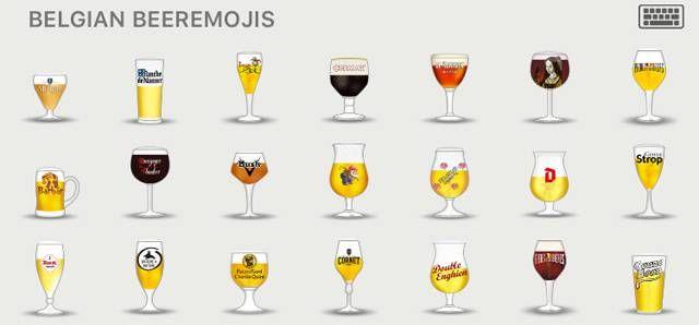 ビール好きならマストでダウンロード。ベルギービールの絵文字、60種類! - グノシー