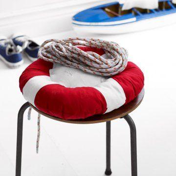 Cushion like a life-belt