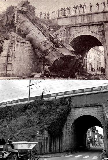 Accident de train - le 21 juillet 1943.