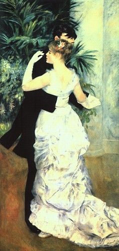 Dança na cidade, 1883, óleo sobre tela, Musée d'Orsay, Paris