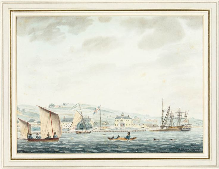 CityScapes: Halifax Naval Yard 1796 - Library and Archives Canada