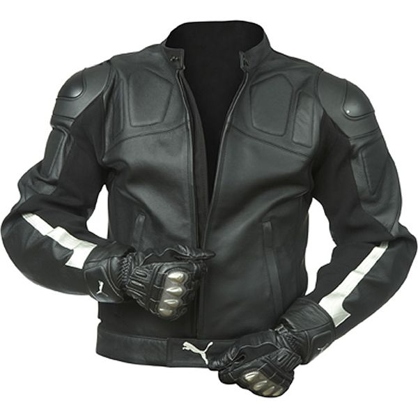 Puma Leather Jacket Puma Men's Street Motorcycle Jacket