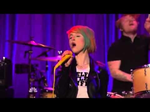 """Paramore - """"Ain't It Fun"""" Live at Late Night with Seth Meyers"""