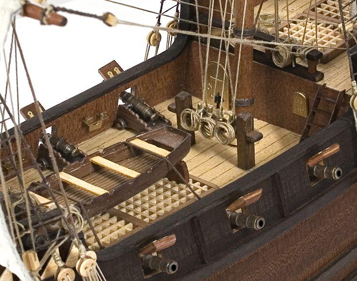 Galeão BUCAANEER. O modelo Buccaneer pôde ter sido um dos navios utilizados nas suas malfeitorias.