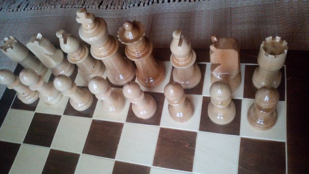 Sammeln & Spielen - Mini garten,staunton stil groß schachspiel,PROMO - ein Designerstück von HandgefertigteSchach bei DaWanda
