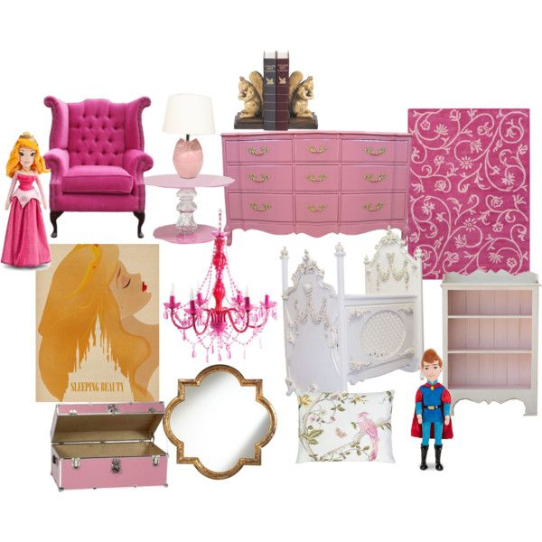 """Sleeping Beauty (Aurora) nursery"" by molly-pop on Polyvore"