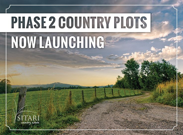 Be first in line to view some of the best located plots within the entire estate. Phase 2 Country Plots Now Launching from R710 000 to R1 165 000. Contact our sales office today for more information - 087 890 0033.