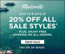 Madewell Display ad