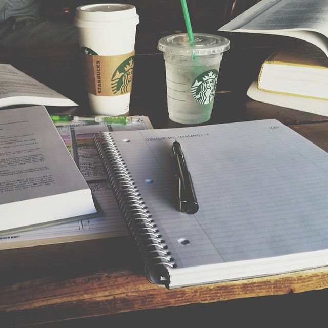 Notespiration | Seeing pretty pictures like this just gets me into the mood to start writing notes and being organized.