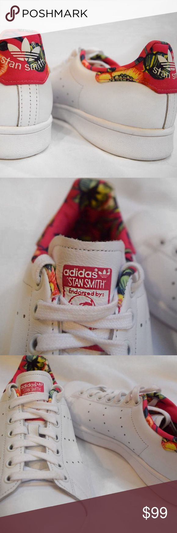 LIMITED EDITION floral Stan smiths Rare limited edition never worn Stan smith floral adidas originals Adidas Shoes Sneakers