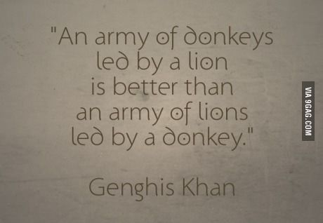 Genghis Khan everyone