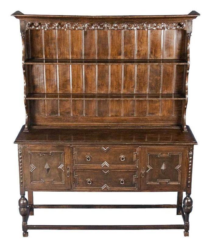French Kitchen Dresser: Details About Antique French Country Oak Kitchen Dresser