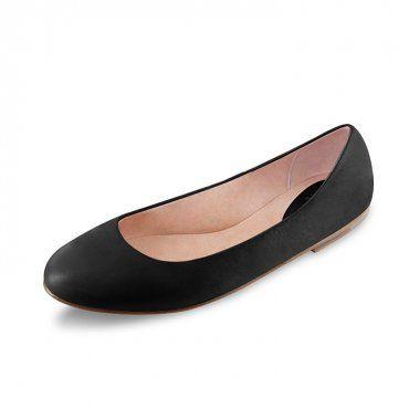 BLOCH ARABIAN BALLERINA FLAT - The classic Bloch ballerina flat in a soft leather