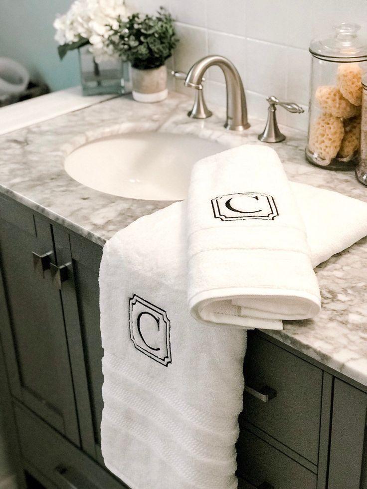 Bath Towel Room Essentials Monogrammed Bath Towels