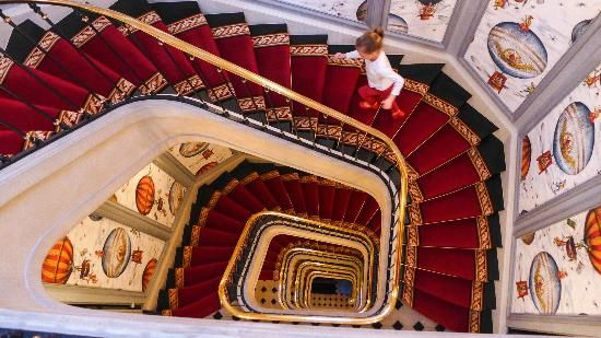"""10 extraordinarily designed hotels :::   5. Saint James Paris  Paris, France ::: """"Everything I expected to find in Paris - elegant furniture, chandeliers, and..."""""""