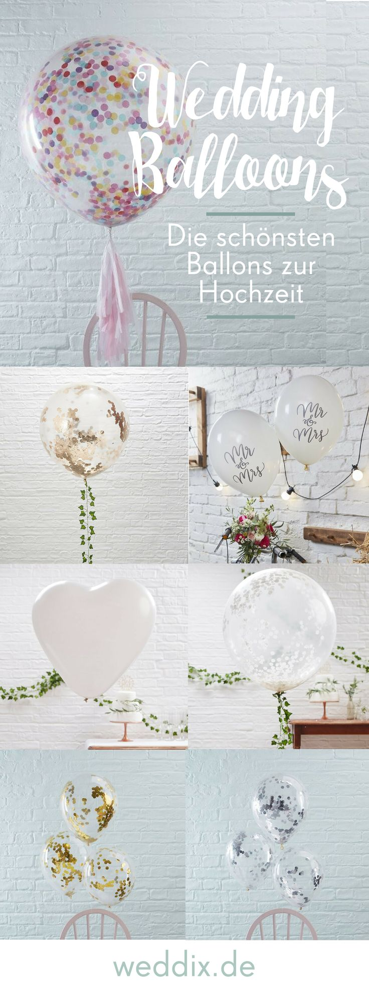 Ballons zur Hochzeit – weddix