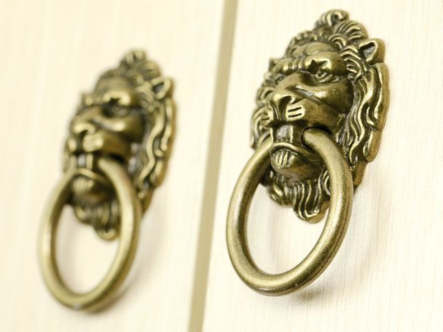 Decorative Hardware Lion Head Kitchen Cabinet Knob And Drawer Pull Sizes 64mm 52mm