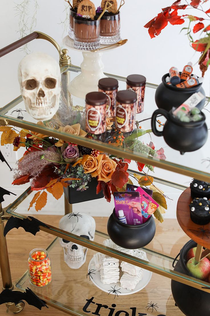 Halloween Party Trick or Treat Bar! in 2020 Amazing
