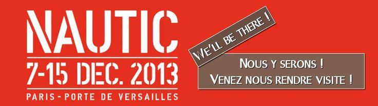 Salon NAUTIC 2013 : Venez nous rejoindre, un stand dédié au Championnat du Monde de Kayak polo 2014 aura le plaisir de vous accueillir