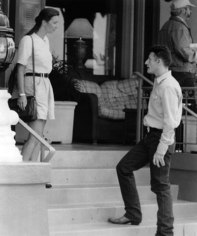 Lisa Kudrow as Lucia and Lyle Lovett as Sheriff Carl Tippett | Essential Gay Themed Films To Watch, The Opposite of Sex http://gay-themed-films.com/watch-the-opposite-of-sex/