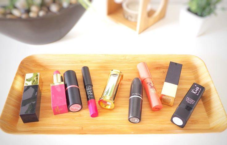 Collection rouge à lèvres maquillage
