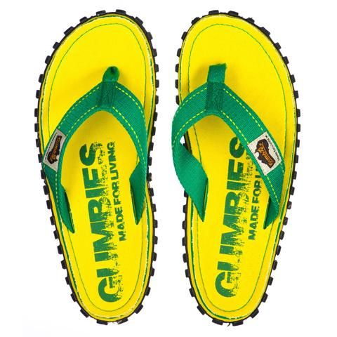 Gumbies Islander Sandale yellow eroded EU 37 oBFPOzBtqy