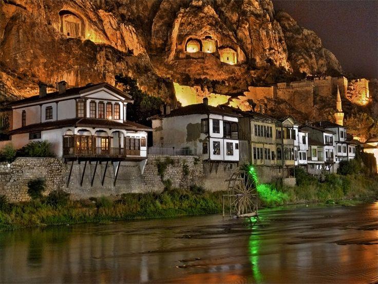 Amasya, Türkiye- Masal gibi :)  Like a fairy tale..