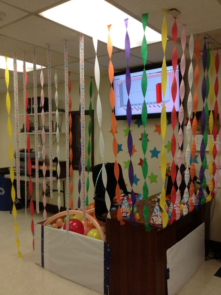 38 best images about coworker birthday ideas on pinterest for Fun office decorating ideas