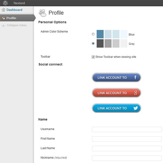 Nextend Twitter Connect for WordPress