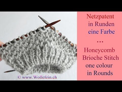 Stricken - Flechtmuster in Runden stricken, criss cross stitch, DIY Anleitung by Nele C. - YouTube