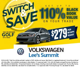 Up to 110% on your trade towards select 2016 VW models! Applied to 2009 vehicles and newer. Valid with dealer arranged financing. Cannot be combined with other offers. On approved credit. Payments ...