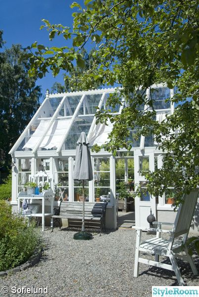 Greenhouse, Sweden.