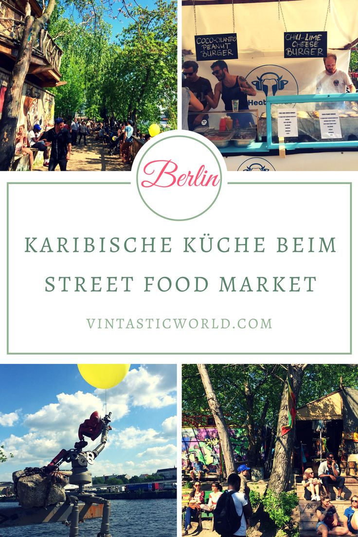 Karibische Küche beim Street Food Market im YAAM Berlin