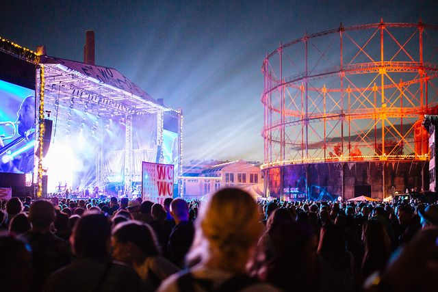 Flow Festival Main Stage 2014 by Samuli Pentti.