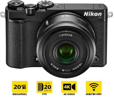 Take the Click: Nikon 1 J5 cattura filmati 4k a 15fps