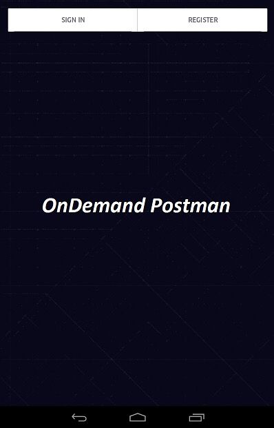 OnDemand Postman App coming soon!  Get anything delivered on time  within your local city.   Flat rates on all deliveries within 2 hours.  http://www.uberontime.com