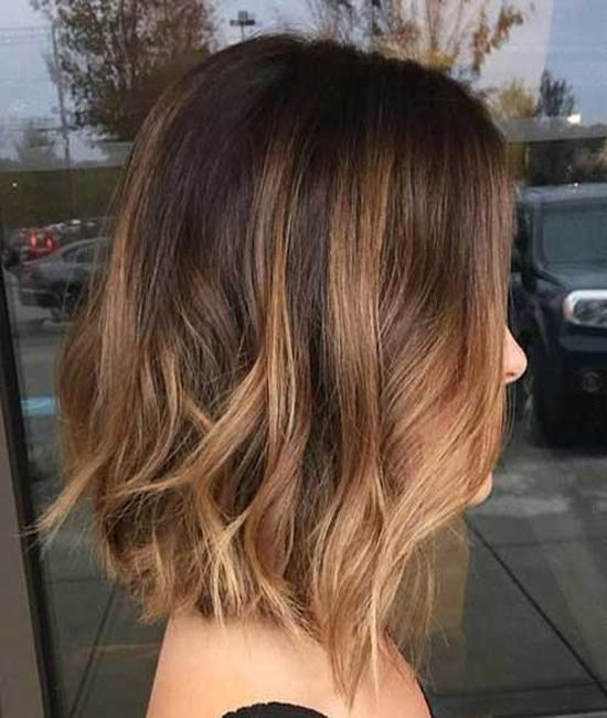 bob hairstyle trends choppy blunt wavy low maintenance