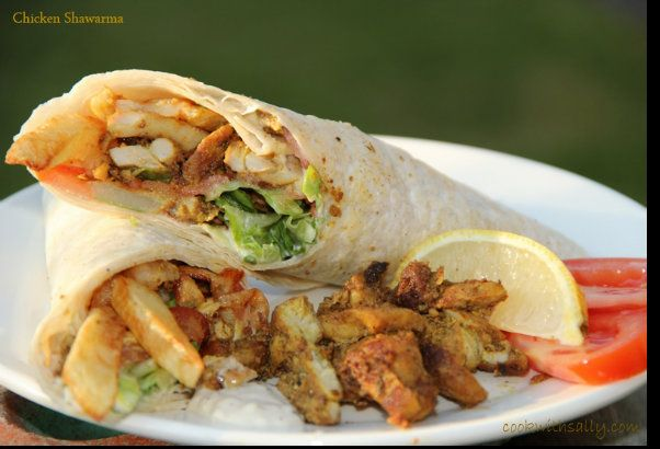 Lebanese Chicken Shawarma Recipe | Arabic Food Recipes | Bloglovin'