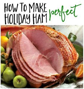 Ham is such an easy meat to prepare at the holidays... And really most people EXCEPT ham this time of year, don't you think? It would be weird NOT to have it, honestly! So I'm here today to help you prepare...