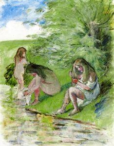 Bathers - Camille Pissarro - The Athenaeum