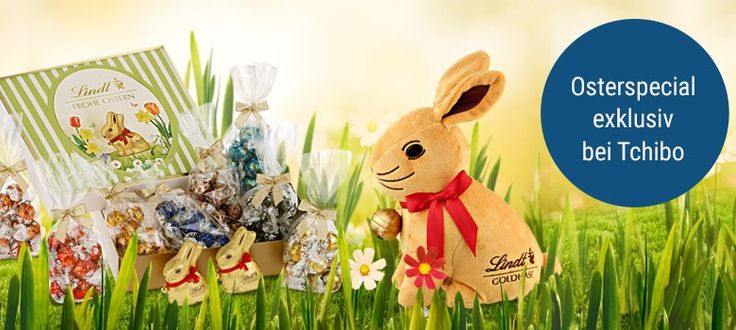 Easter without chocolate? Not possible. The chocolate Easter Bunny cannot be missing. Get the perfect Easter gift package at Tchibo.de now with delicious high-quality chocolate bunnies by Lindt. http://www.tchibo.de/so-laeuft-der-hase-immer-den-oster-ideen-von-lindt-nach-c400081765.html?wbdcd=NQjXzWaoNw&linkid=24ODGAIZ-24N9487L-24N946WR-49C4XZ&wt_uk=c40882e94fed4317bb5de80d642a5e9f&wt_cc1=6154c648d351cbcc1b78a32556e49eda