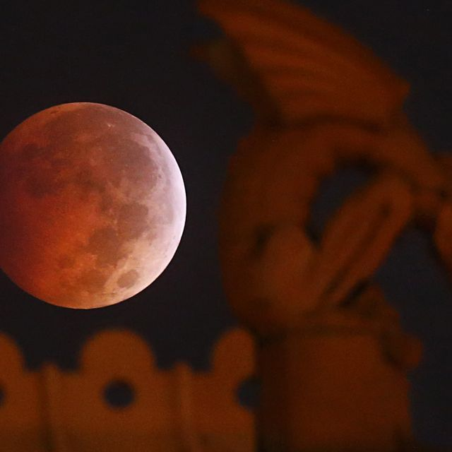 Experienced the last Lunar eclipse this year )O(