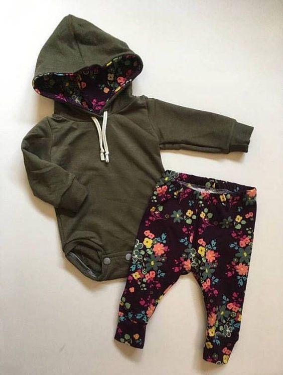 Détails sur le Nouveau-né Enfant Bébé Garçon Fille 2pcs À Capuche Combinaison Romper Lengthy Pantalon Outfit Set
