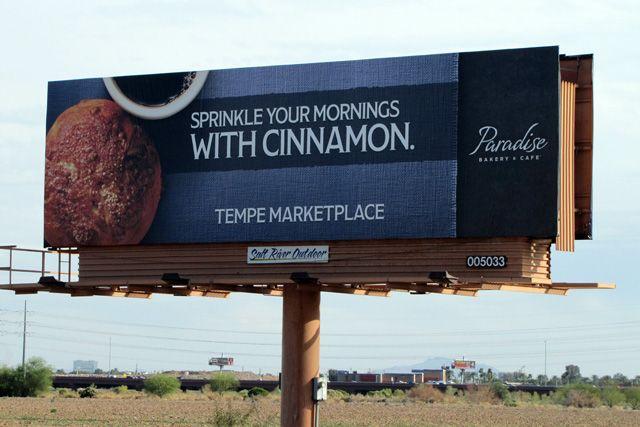 Paradise Bakery & Cafe billboard